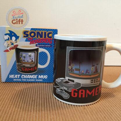 Mug en 3D lenticulaire – Sonic
