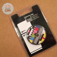 Badge magnétique – Mire de télévision