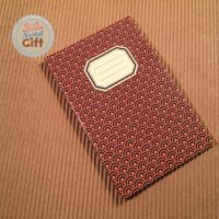 Carnet 9x14 - Rétro années 70 – Marron