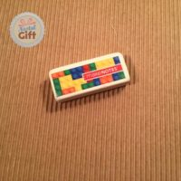Gomme- Briques Lego multicouleurs