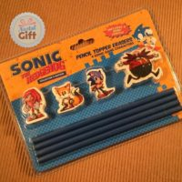 Kit crayons et gommes – Sonic
