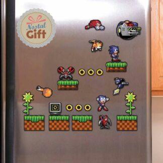 Magnet pour frigo – Sonic
