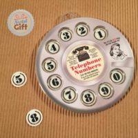 Marque page téléphone à cadran – Rétro