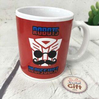 Mug - Transformers Sous couverture