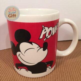 Mug Mickey vintage rouge
