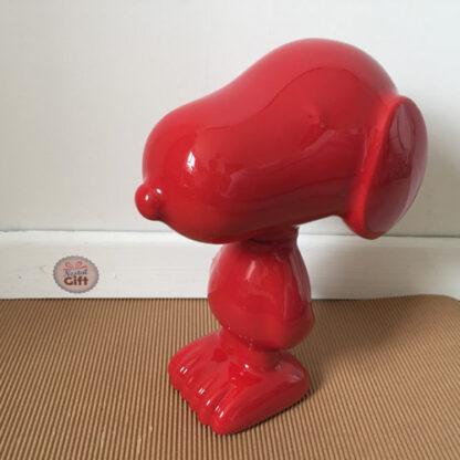 Sculpture Snoopy 26 cm - différentes couleurs