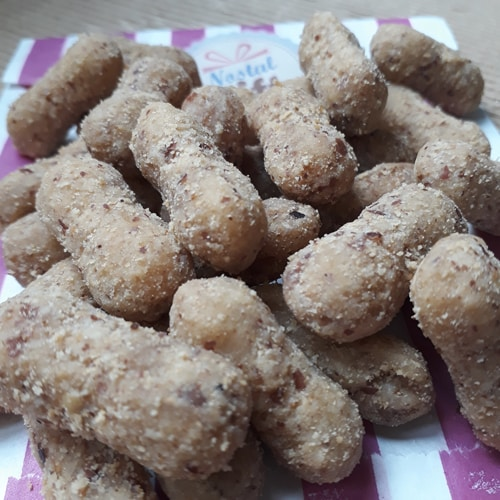 cacahuète feuilletée