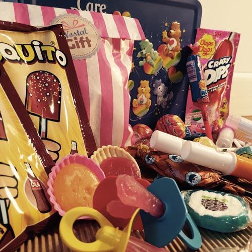 image du thème bonbons rétro