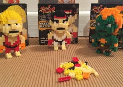 Pixel Brick Street Fighter - Blanka