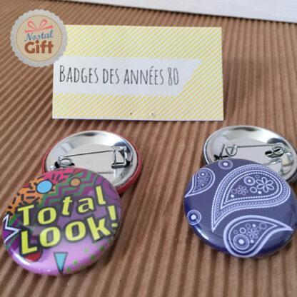 Badges des années 80