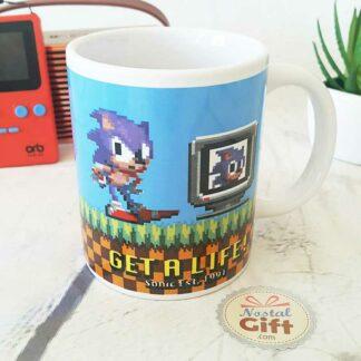 """Mug Sonic """"Get a life"""""""