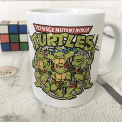Mug tortues ninja retro : Turtle Power