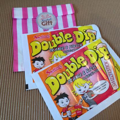 Double Dip - orange - cerise - x2