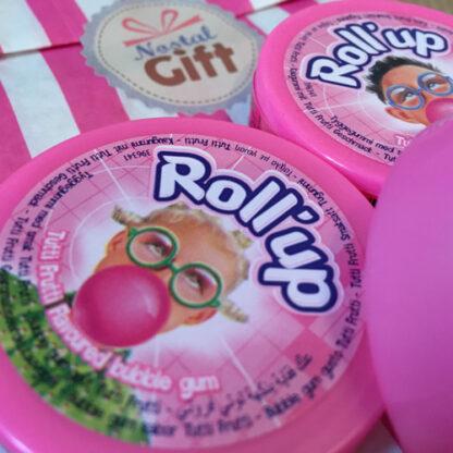 Roll-up - Chewing gum à dérouler (Tutti Frutti) x3