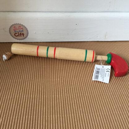 Pistolet en bois avec bouchon en liège