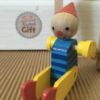 Acrobate en bois - Clown gymnaste