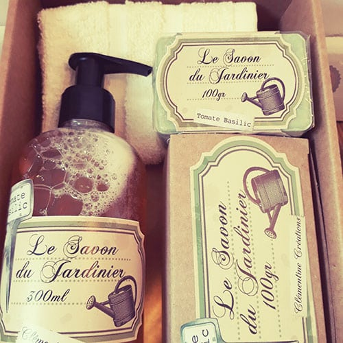 Coffret cadeau savons du jardinier nostalgift - Cadeau pour jardinier ...