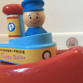 Fisher Price vintage - Bateau Tut Tut !
