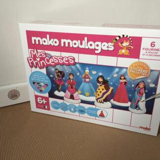 Mako moulages - Mes princesses - 6 moules