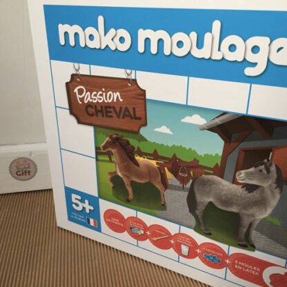 Mako moulages - Passion Cheval - chevaux 3 moules