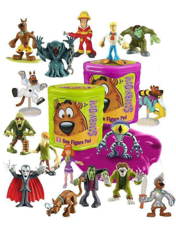 Scooby doo scoubidou slime avec personnage - Personnage scoubidou ...
