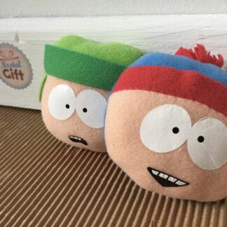 South Park - Aimant - tête de Stan et Kyle (lot de 2)
