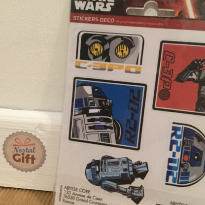 """Star Wars - stickers """"R2D2 C3P0"""""""