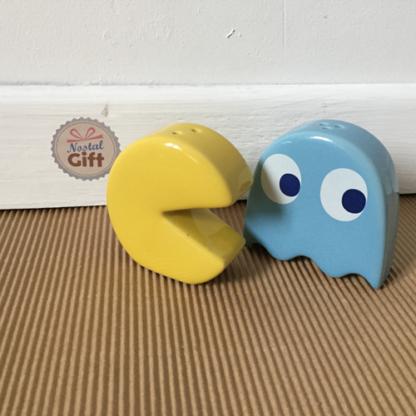 Salière et poivrière Pac Man