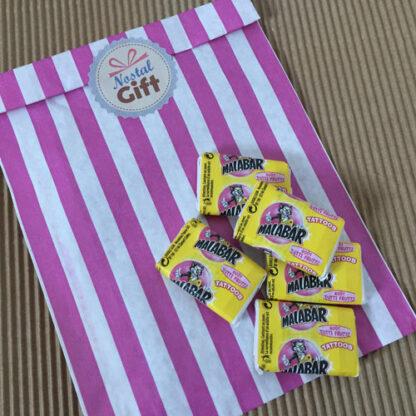 Chewing-gum Malabar (original) tutti-frutti x 5