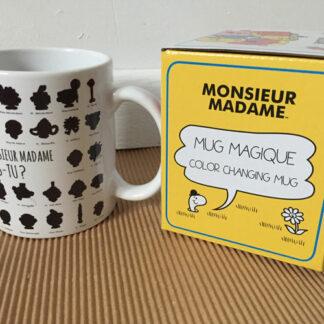 Mug Monsieur Madame thermique