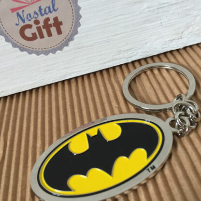 Batman - Porte clef métal logo Batman émaillé