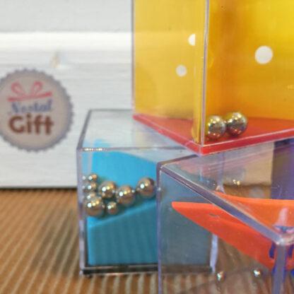 Casse-tête à billes - Jeu de patience cube x3