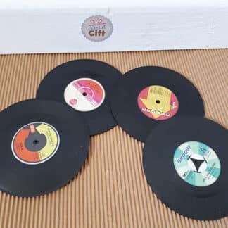 Sous verre Vinyl x4