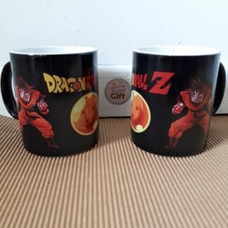 Grand Mug Dragon Ball Z thermoreactif - Sangoku