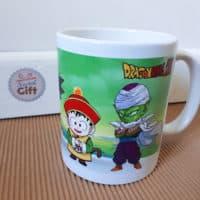 Mug Dragon Ball Z - Equipe chibi (Krili, Vegeta, Goku, Piccolo)