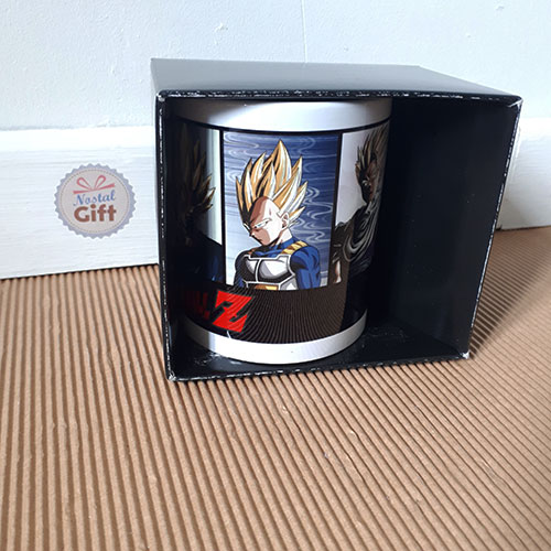 Mug Dragon Ball Z - Saiyen (Goku, Vegeta, Trink, Piccolo)