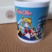 Mug Sailor Moon - Equipe (Sailor Moon, Mars, Mercure, Venus, Jupiter)