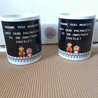 Mug Super Mario - Another Castle