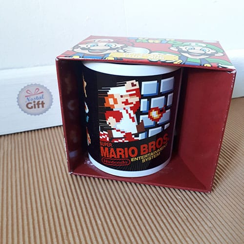 Mug Super Mario Bros - NES cover