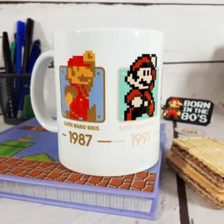 Mug Super Mario - Evolution