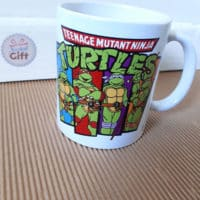 Mug rétro Tortues Ninja - Equipe