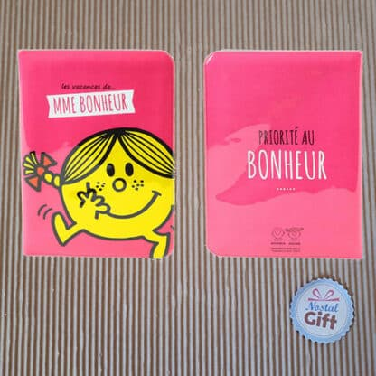 Porte passeport Monsieur Madame