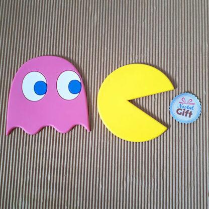 Sous Verres Pac Man x5