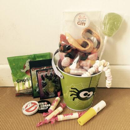 Bonbons Halloween - Seau rempli de bonbons gélifiés à offrir