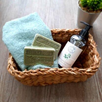 Coffret cadeau - Savons du jardinier - Fabriqué en France