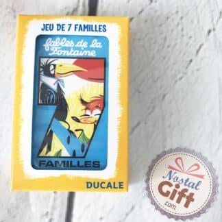 Jeu de 7 familles - Les fables de la fontaine