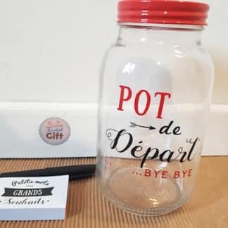 Bocal à souhaits - Cadeau Pot de départ