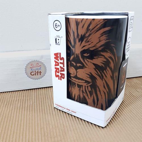 lampe veilleuse star wars avec son chewbacca. Black Bedroom Furniture Sets. Home Design Ideas