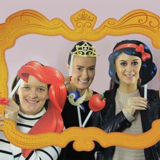 Photobooth Princesse Disney - Déguisement photo pour mariage, anniversaire, fête...
