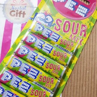 """Pez - Recharges acidulées pour distributeur - """"Mix Sour"""""""